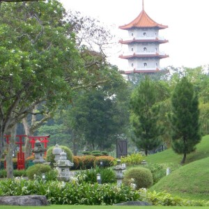 One of many wonderful views of the Chinese/Japanese Gardens