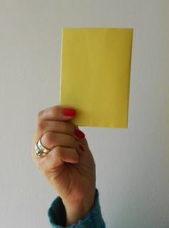 Yellow card 320
