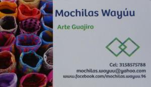 a 720 card mochilas Wayuu