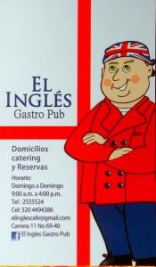 El Ingles Business card 2