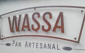 WASSA metal sign