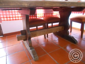 Bogota furniture shopping trestle table