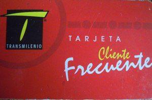 Red Transmilenio Card